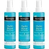 Neutrogena Hydro Boost Body Gel Spray - Erfrischendes und ultra-leichtes Body Spray mit Hyaluron - 3 x 200ml