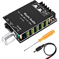 YEMIUGO Bluetooth 5.0 Amplifier Board 100W Power High Fidelity HiFi Dual Channel Stereo Bluetooth Digital AUX Audio Amp…