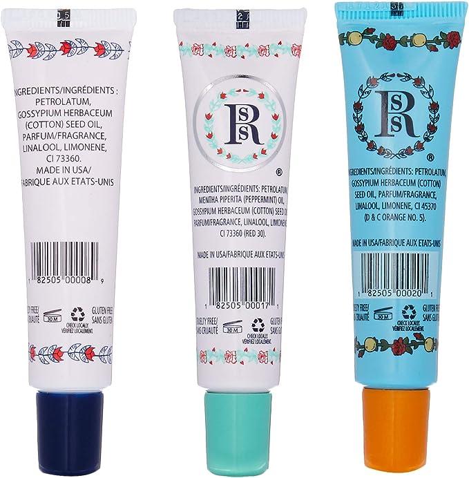 Rosebud Trio Lip Balm Surtido, 0,5 onza: Amazon.es: Belleza