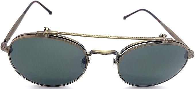 Amazon.com: Matsuda M3060 Ant redondos de oro anteojos de ...
