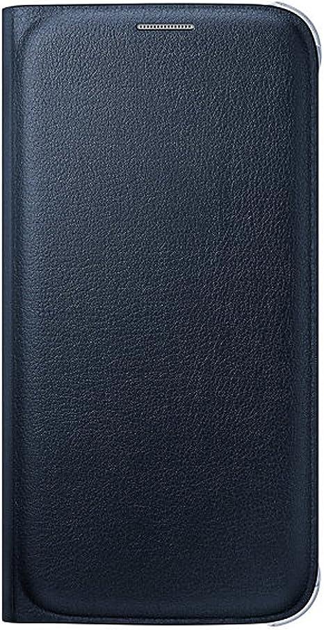 samsung custodia flip wallet in similpelle per galaxy s6 edge oro