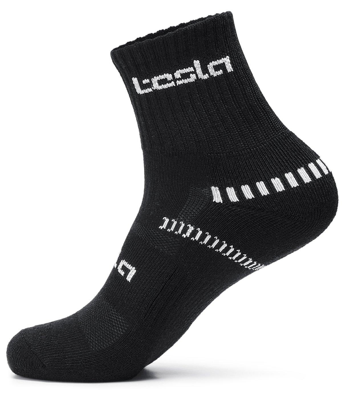 TSLA Mens 6-Pairs Atheltic Crew /& Mid-Calf Socks Cushioned Sports Comfort MZS Series Tesla Gears