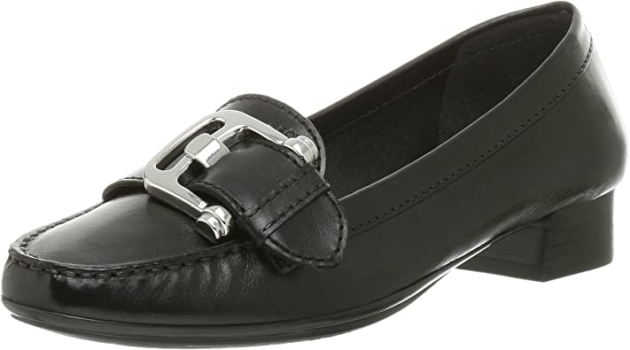 sobre empujoncito Min  Amazon.com | Geox Women's Donna Leather Terry Loafer | Loafers & Slip-Ons