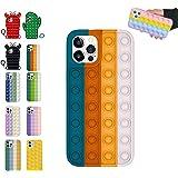 Pop It telefonfodral fidget, pop bubbel sensoriskt fodral kompatibel med iPhone 7,8,7p, 8p, X, X, Xs Max, Xr, 11,11pro…