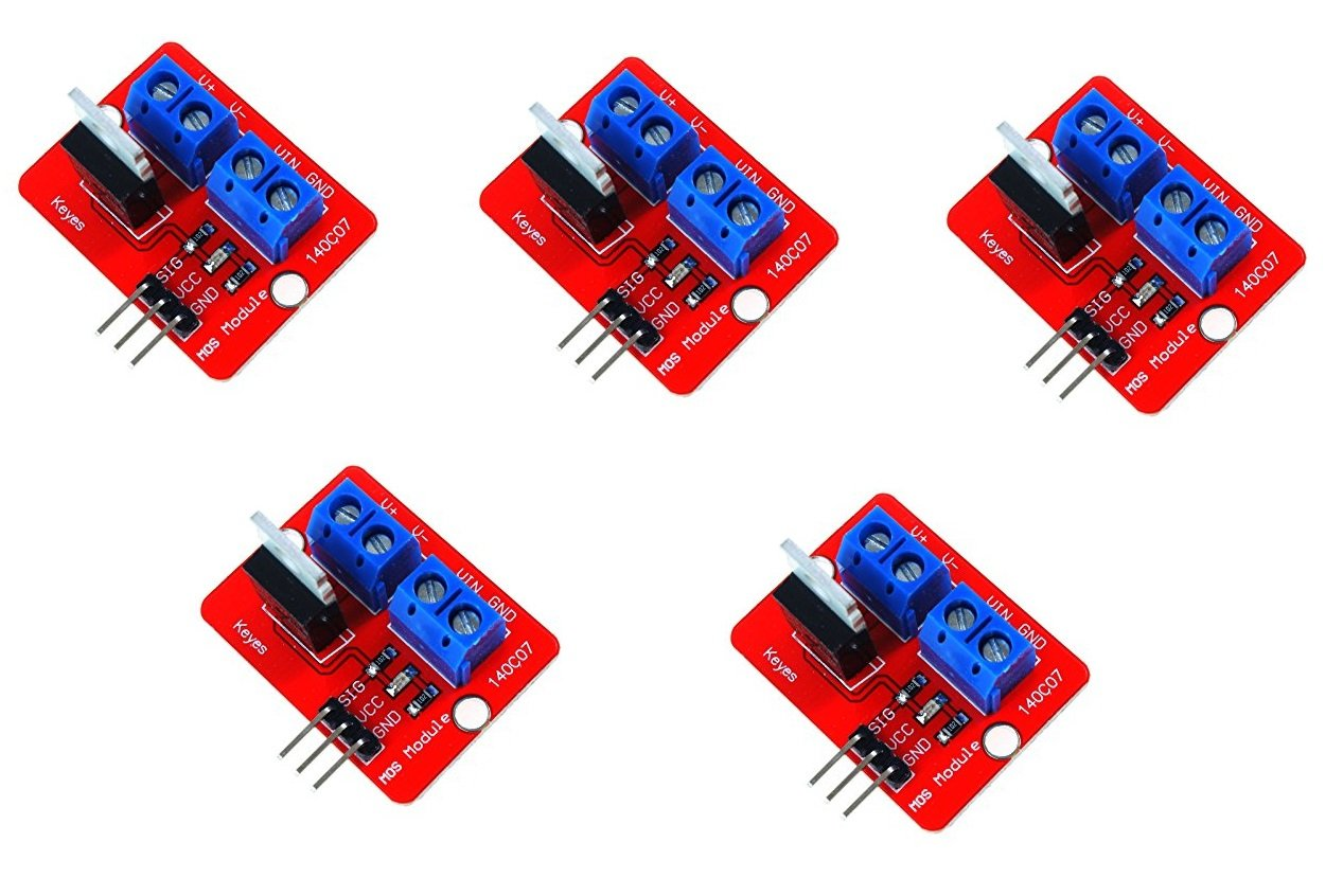 WINGONEER 5Pcs IRF520 MOSFET Driver Module- Buy Online in