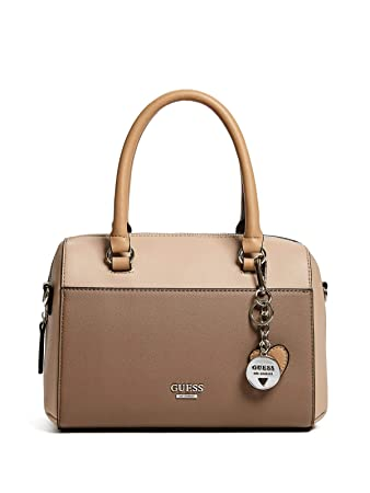 GUESS Factory Womens Juxtapose Color-Block Box Satchel