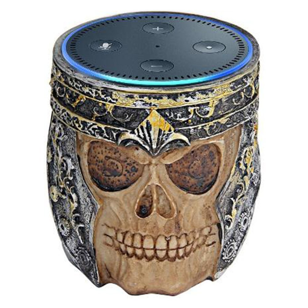 Amazon Echo Dot Stand Holder - Skull Retro Design for Amazon Echo Dot 2nd and 1St Generation Speaker Guard Stand Mount Base, A Perfect Home Decor, BFF For Echo.