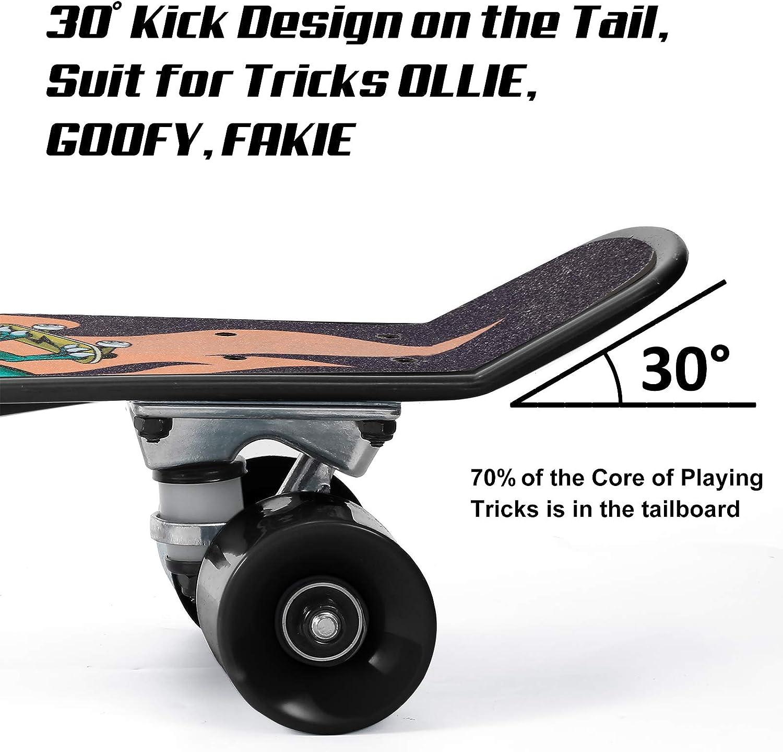 WhiteFang Skateboards 22 Inch Skateboard