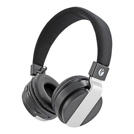 VCOM Auriculares inalámbricos Bluetooth Auriculares plegables con cancelación de ruido integrados Micrófono incorporado y compatible Modo