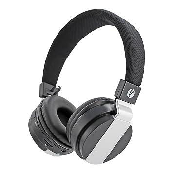 VCOM Auriculares inalámbricos Bluetooth Auriculares plegables con cancelación de ruido integrados Micrófono incorporado y compatible Modo alámbrico para PC ...