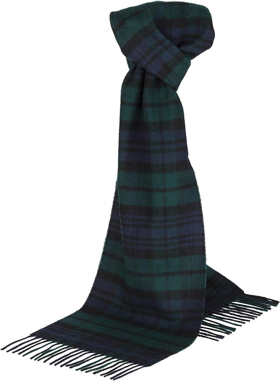 dise/ño de cuadros The Cashmere Choice Lomond Lambswool Bufanda de lana escocesa