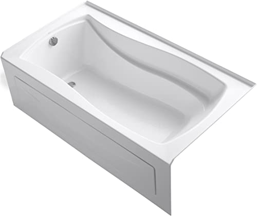 KOHLER K-1229-LA-0 Mariposa 5.5-Foot Bath, White