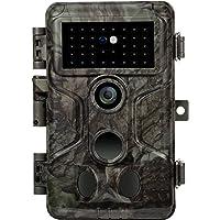 GardePro Cámara de Caza A3S, 24 MP, 1080p, H.264, HD, vídeo de 30 m, sin Brillo, Infrarrojos, 0,1 s, visión Nocturna…