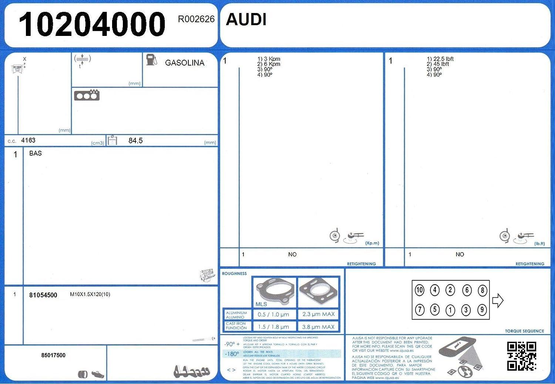 Ajusa 52360800 Gasket Set cylinder head