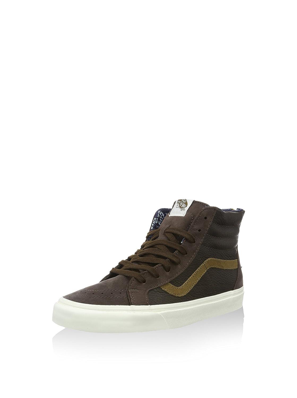 b3fda63cdb New Vans Sk8-Hi Zip CA Leather Nubuck Coffee Bean Brown Mens Size 6.5  Skateboarding Shoes (6.5)  Amazon.ca  Shoes   Handbags