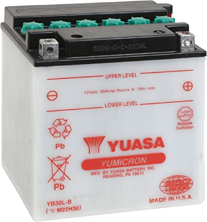 Amazon.com: Yuasa YUAM22H30 YB30L-B Battery: Automotive