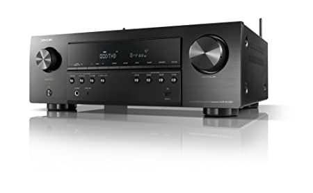 Denon AVR-S640H Audio Video Receiver, 5.2 Channel 4K Ultra HD Home Theater Surround Sound and Music Streaming System – Wi-Fi, Bluetooth, Airplay, Alexa and HEOS Wireless Speaker Expansion Built In