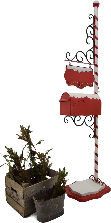 6 ft. Tall Rojo decorativo bastón de caramelo, Polo Norte, Papá ...
