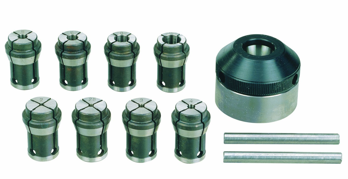 Proxxon 24042 Collet Set for Accurate Use on Round Components by Proxxon