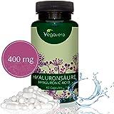 ACIDO IALURONICO Vegavero | 400 mg: il DOSAGGIO PIÙ ALTO tra i concorrenti | PURO - SENZA MAGNESIO STEARATO | Per Pelle e Articolazioni | 60 capsule | Vegano | Analisi a disposizione!