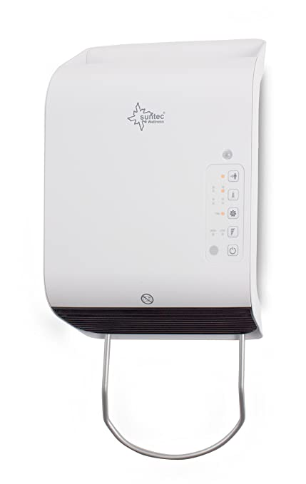 Suntec Wellness 14031 Calentador Rápido para Baños 2000 W, 240 V, Blanco