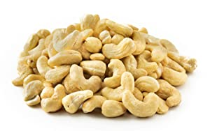 NUTS U.S. - Cashews | Raw and Unsalted | Whole Kernels and No Shell | Fresh & Unroasted | Natural Bulk Cashews !!! (2 LBS)