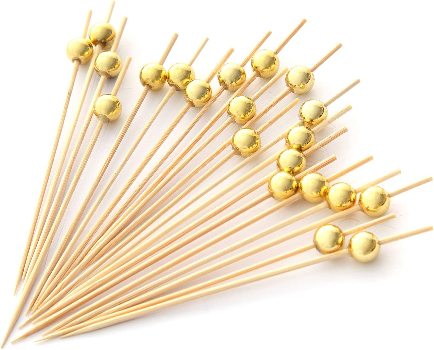 2 x 500 Pack Wooden Wood Cocktail Party Sticks Stick Tooth Pick Picks