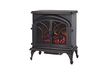 Amazon.com: Fire Sense Fox Hill Electric Fireplace Stove: Home ...