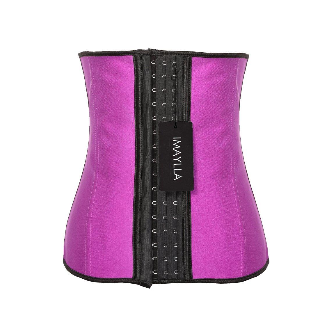 23f56542bc5 Amazon.com   IMAYLLA Shapewear For Women Breathable trimmer belt Cincher  Waist Trainer Underbust Shapewear Waist girdle For dress   Sports   Outdoors