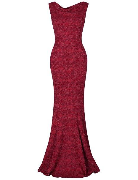 MUXXN Vestido Coctel Mujer Vestidos con Mangas Vestidos Coctel