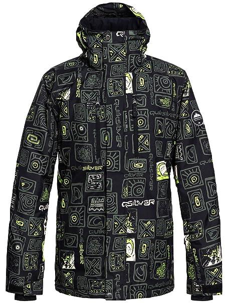 Quiksilver Mission - Snow Jacket - Chaqueta Para Nieve - Hombre - L - Marrón