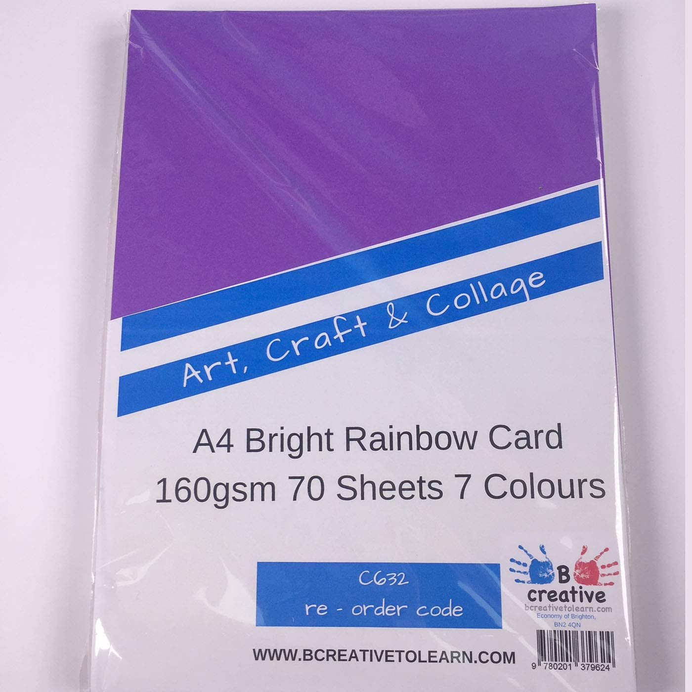 160gsm A4 Card 250 Sheets Yellow Red Green Orange Blue Green Lilac