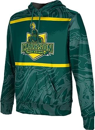 c37acf4f ProSphere Clarkson University Men's Pullover Hoodie, School Spirit  Sweatshirt (Ripple) FCF71 Green and