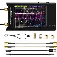 NanoVNA-H4 Analizador de redes vectoriales 10k-1.5GHz Pantalla táctil LCD de 4 pulgadas con batería de 1950mAh…