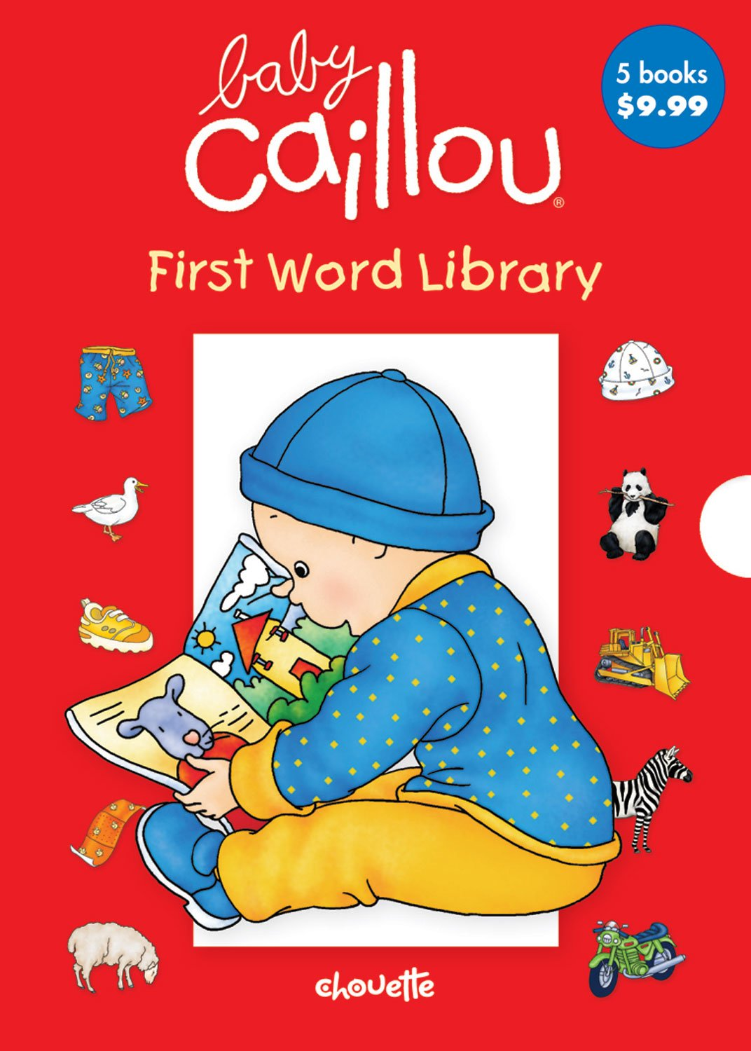 Baby Caillou First Word Library ebook