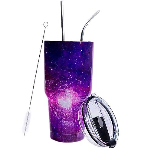 Amazon.com: Wootkey - Vaso de acero inoxidable con doble ...