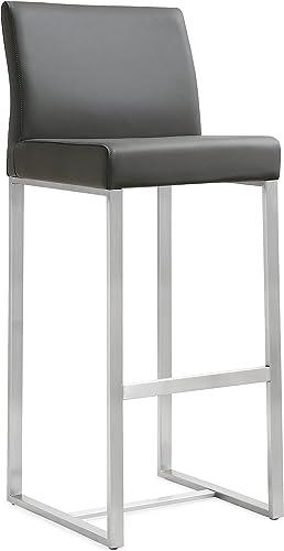 Tov Furniture Denmark Stainless Steel Barstool Set of 2