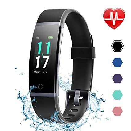 LETSCOM best bang for the buck fitness tracker band with color display