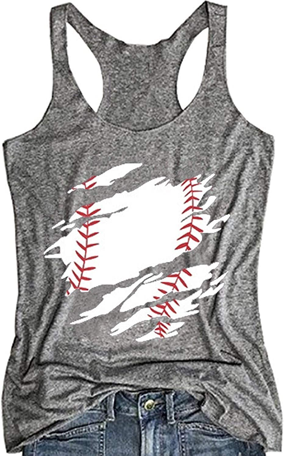 Retro athletic baseball tee Graphic Print Casual Fashion Top
