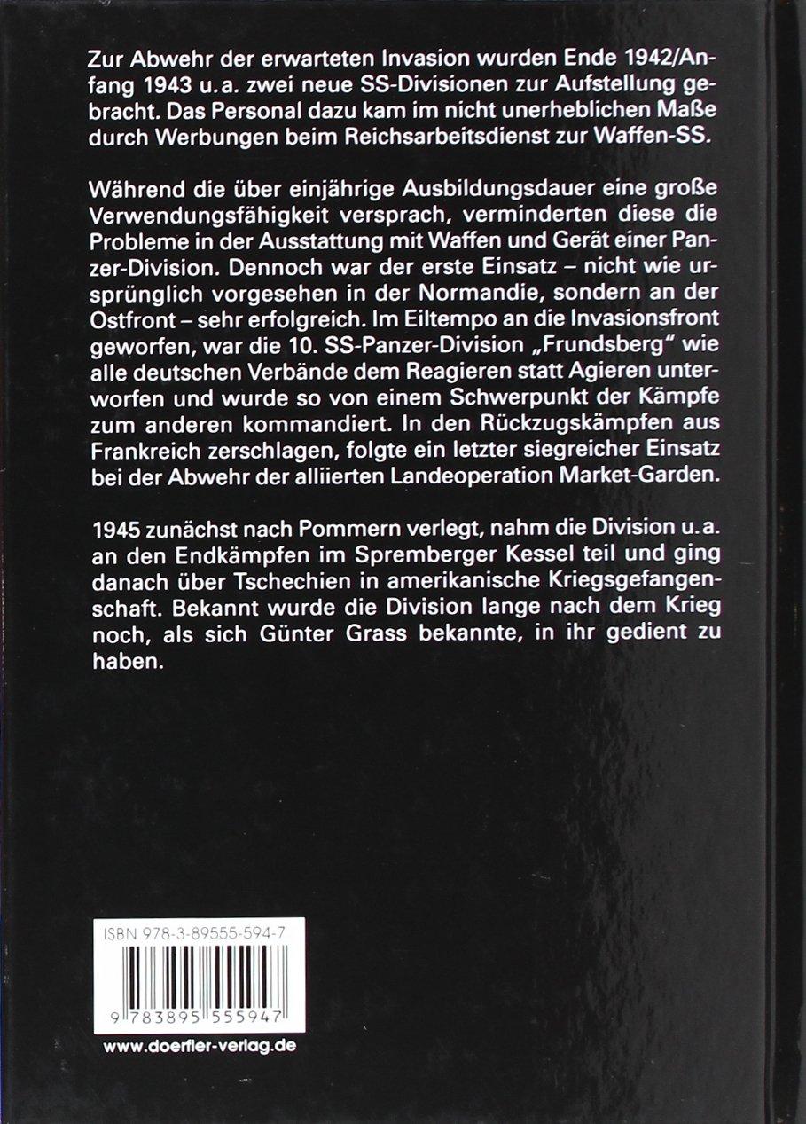 Die 10. SS-Panzer-Division Frundsberg: Amazon.de: Rolf Michaelis: Bücher