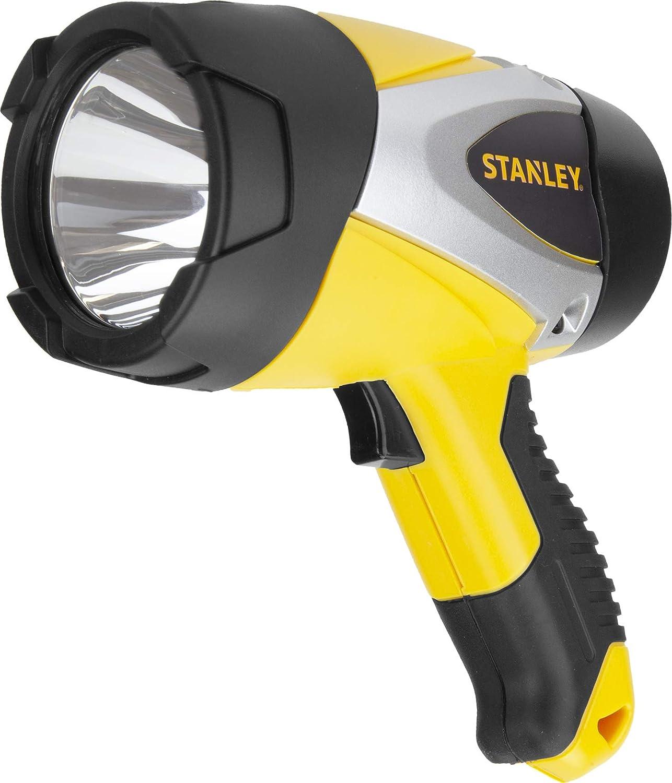 STANLEY SL5W09 Rechargeable 530 Lumen Lithium Ion Ultra Bright LED Spotlight Flashlight
