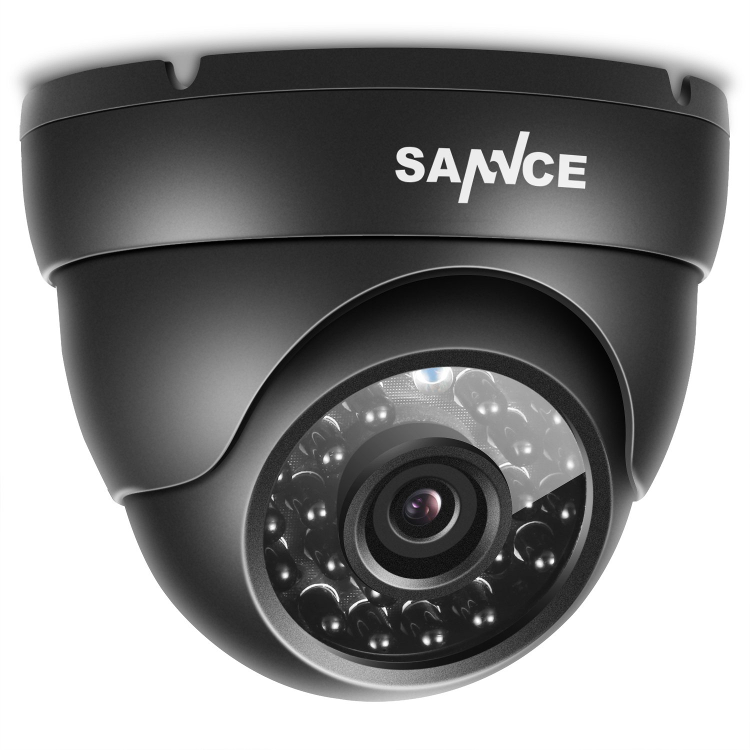 SANNCE 960H 800TVL CCTV Day Night Vision Surveillance Camera Outdoor/Indoor Security and Surveillance Weatherproof Camera with with IR-Cut Weatherproof Body by SANNCE