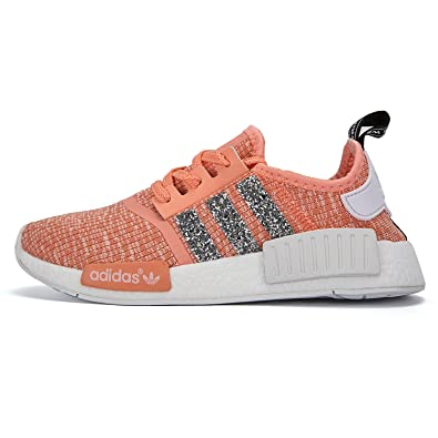 Adidas NMD_R1 Customized With Crystals! womens (USA 7.5