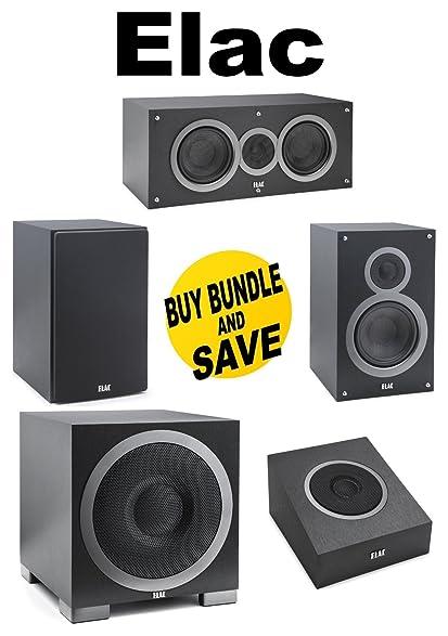 1Pair ELAC B6 Series 65quotBookshelf Speakers Pair C5