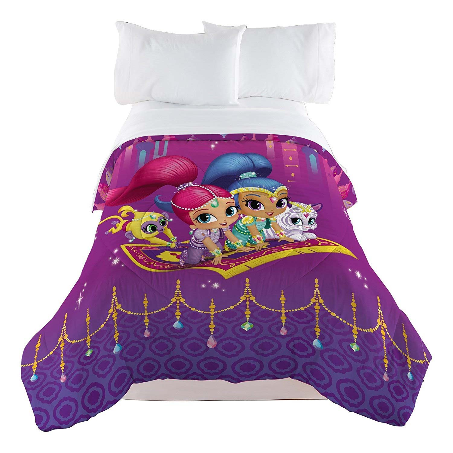 Shimmer and Shine Magical Wonders Twin Comforter by Nick Jr