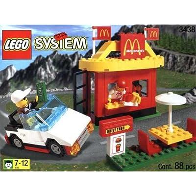 Lego McDonald's Restaurant 3438: Toys & Games