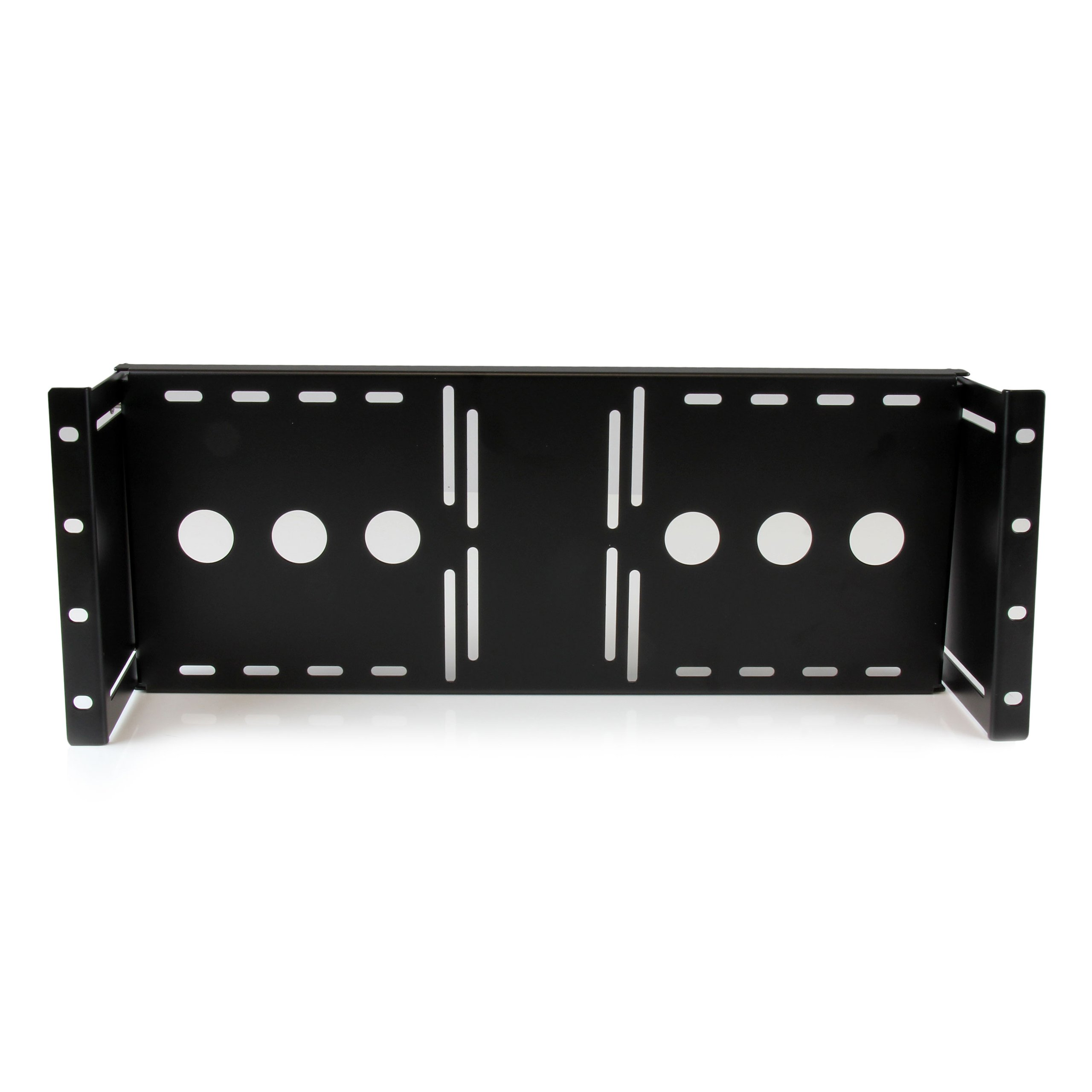 StarTech.com Universal VESA LCD Monitor Mounting Bracket for 19in Rack or Cabinet (RKLCDBK)