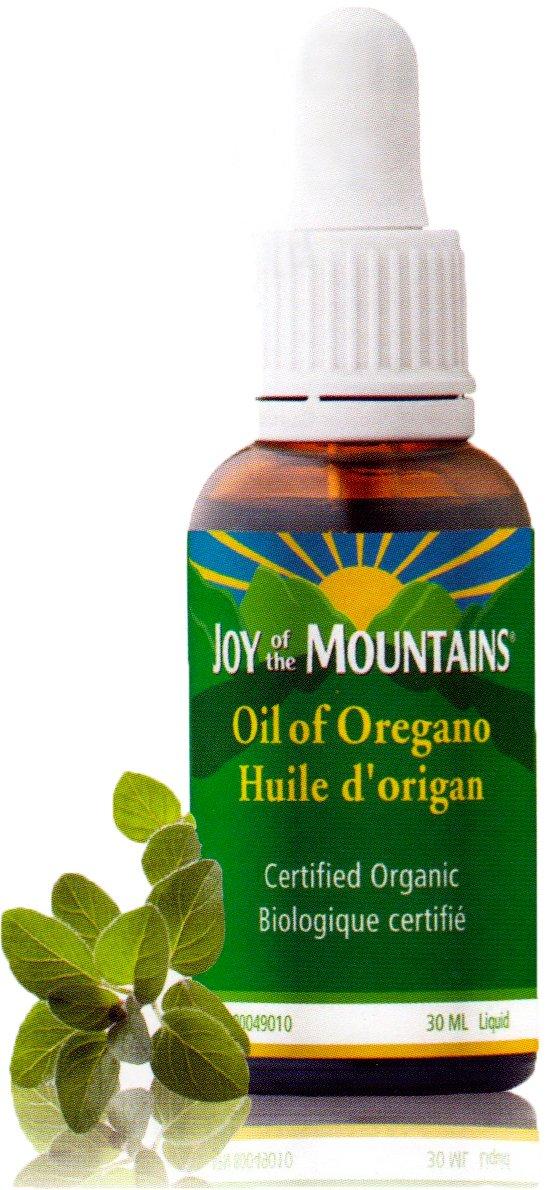 Oregano Oil – 1 Oz / 30ml, 100% Certified Organic