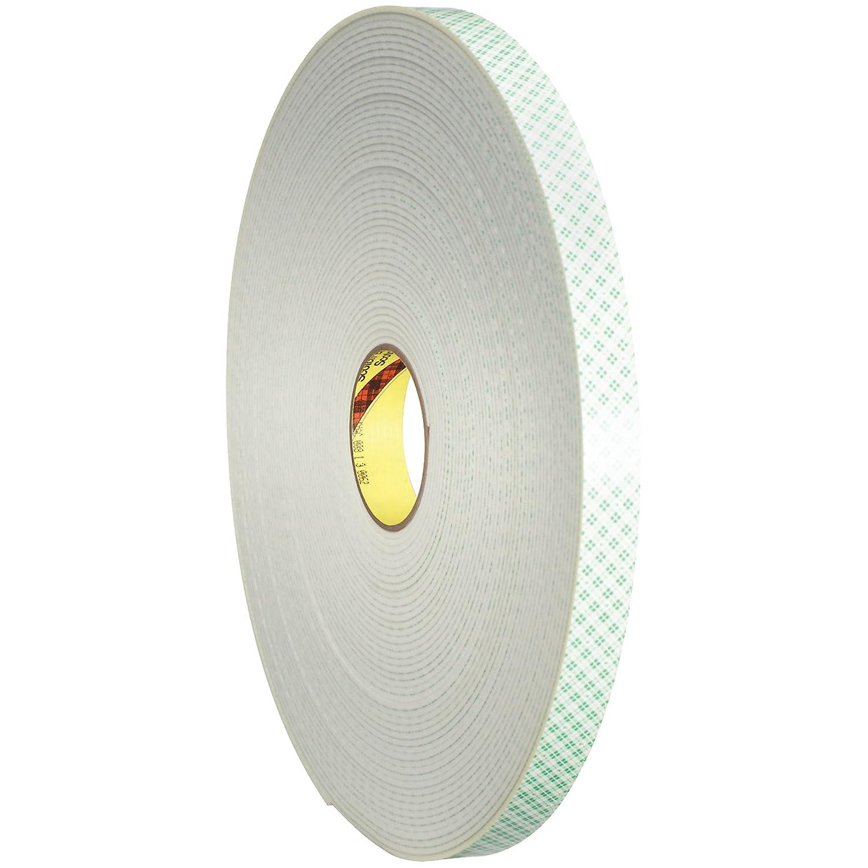 3 M 4008 Poliuretano espuma cinta adhesiva de doble cara, 1/8