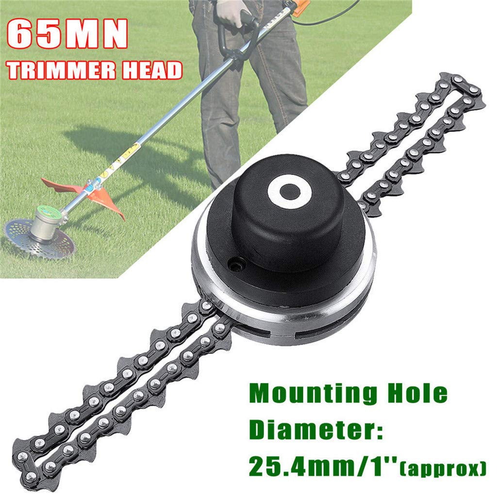 Grass Trimmer High Quality Lawn Mower Chain Brushcutter Trimmer Head Coil Garden Grass Trimmer Perfect In Workmanship Garden Power Tools